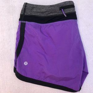 LULULEMON 8 purple short
